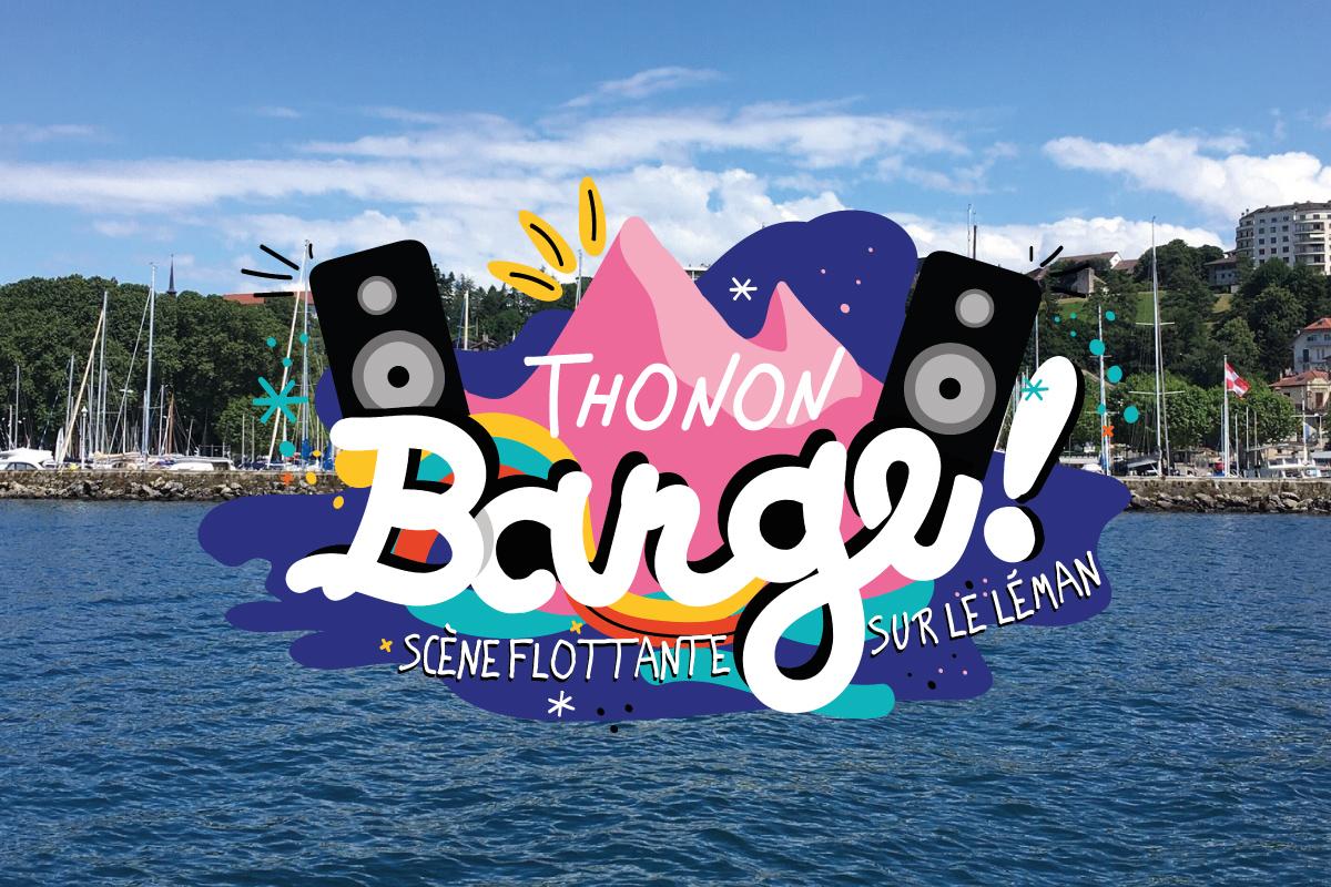 THONON BARGE ! Concerts Flottants